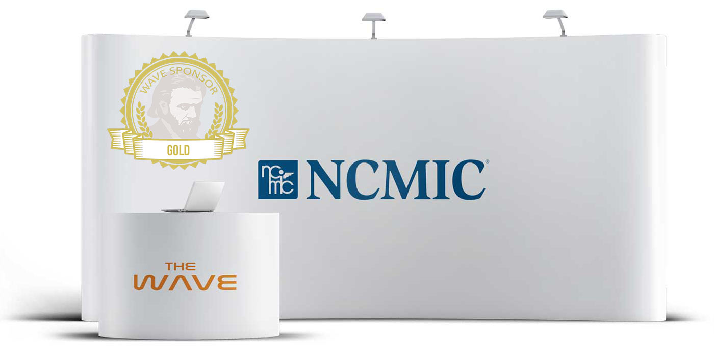 NCMIC - Gold sponsor and exhibitor at the WAVE chiropractic conference